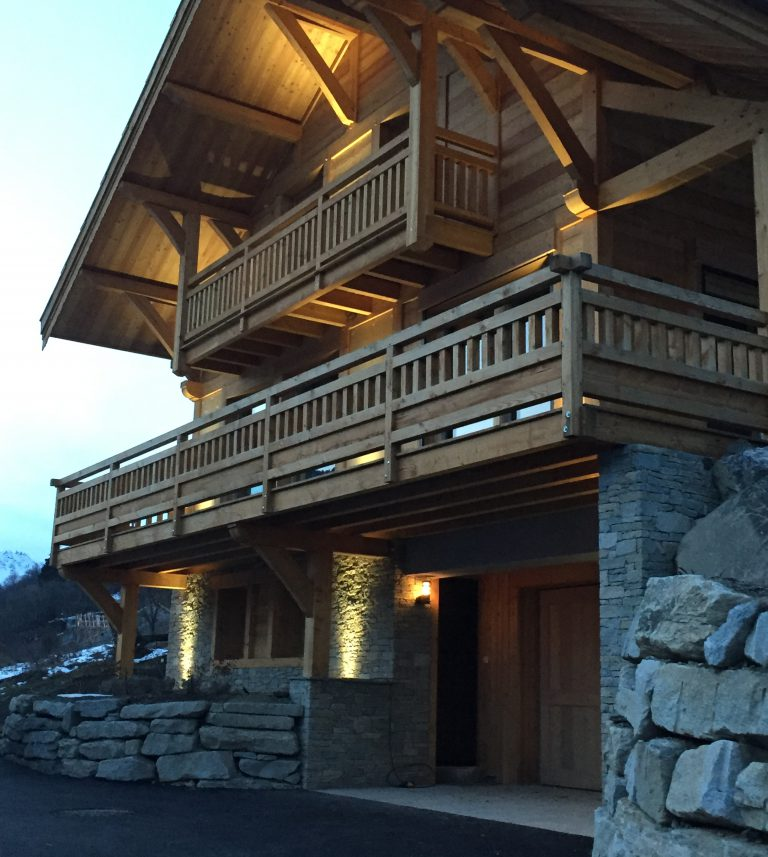 luxury chalet rental french alps